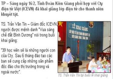 Báo Tiền Phong Online: